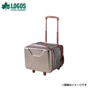 ロゴス(LOGOS) ハイパー氷点下トローリークーラー 81670100 [バーベキュー クーラー クーラー・保冷剤]|minatodenki