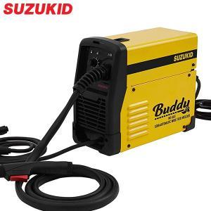 スズキッド インバーター半自動溶接機 Buddy SBD-80 ネット限定モデル (100V/ノンガ...