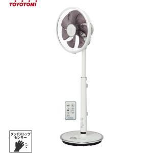 トヨトミ タッチセンサー付き 高性能型 扇風機 FS-D30JHR(W) (ホワイト/リモコン付き) [TOYOTOMI 循環扇 サーキュレーター]|minatodenki