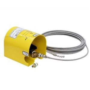 洗管ノズル付きSUSブレードホース10m 『フットバルブセット』 (高圧洗浄機PMR100/PMR150HSD用)|minatodenki