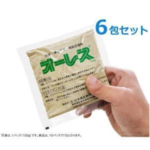 浄化槽バクテリア 『オーレス100』 《お得6包セット》 (1kg×6個)|minatodenki