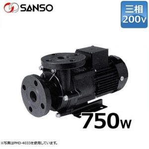 三相電機 マグネットポンプ PMD-7533B2X (三相200V750W/ケミカル・海水用)口径40A|minatodenki