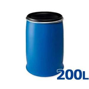 コダマ樹脂 樹脂製ドラム缶 パワードラム POM-200 (容量200L/開放型) [r20]