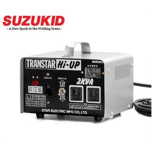 スズキッド アップトランス トランスター ハイアップ SHU-20D [スター電器 SUZUKID 変圧器 昇圧トランス 昇圧器]|minatodenki