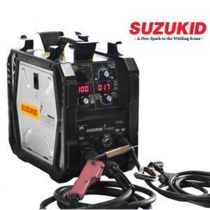 スズキッド インバーター半自動溶接機 SIG-140 (100V・200V兼用) [スター電器 SUZUKID]|minatodenki