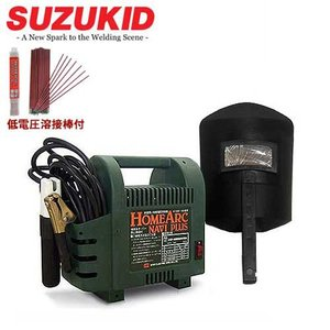 スズキッド 100V交流アーク溶接機 ホームアークナビプラス 《低電圧溶接棒1.4Φ×500g付セット》 [スター電器 SKH-41NP SKH-42NP]|minatodenki