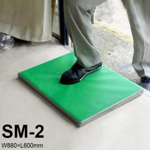 南栄工業 除菌・消毒マット SM-2 マット単品 (W880×L600mm)|minatodenki