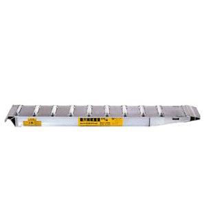 昭和ブリッジ アルミブリッジ 2本組セット SXN-180-24-4.0 (180cm/幅24cm/荷重4.0t)|minatodenki