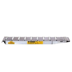 昭和ブリッジ アルミブリッジ 2本組セット SXN-300-24-3.0 (300cm/幅24cm/荷重3.0t)|minatodenki