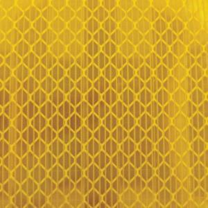 TRUSCO 高輝度反射シート カプセルレンズ型 455mmX227mm 黄 HS4522C (Y) [HS-4522C][r20][s9-900]|minatodenki