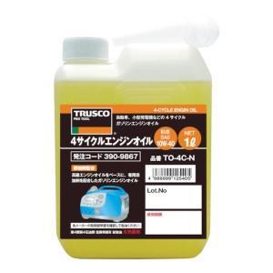TRUSCO 4サイクルエンジンオイル1L TO4CN [TO-4C-N][r20][s9-900]|minatodenki