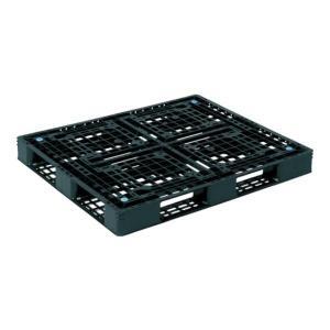 サンコー プラスチックパレット D4ー1012-6 黒 SKD410126BK [SK-D4-1012-6-BK][r20][s9-900]|minatodenki
