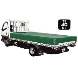 大型トラック用 荷台シート TS-40KL (KL生地) [トラックシート] minatodenki