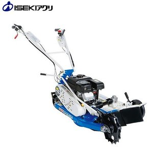 イセキアグリ 自走式草刈り機 ウイングモアー WMC1317 ゴムクローラ強力駆動 [2WD 自走モアー 自走草刈り機]|minatodenki