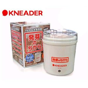 日本ニーダー 玄米発芽器 発芽のちから YC101G [発芽玄米]|minatodenki