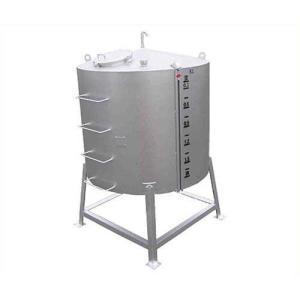 サンダイヤ 重油用 大容量型オイルタンク YMA-1900G1 (縦型/耐震仕様/水張試験確認済証付) [大型灯油タンク]|minatodenki