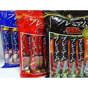 プレミアムうまい棒 3種類アソートセット(各1袋入)|minatojapan-y02