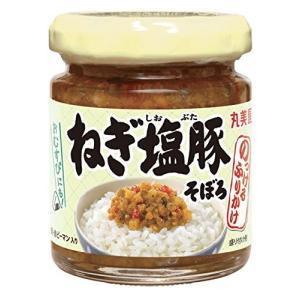 丸美屋 のっけるふりかけねぎ 塩豚そぼろ瓶入 100g|minatojapan-y02