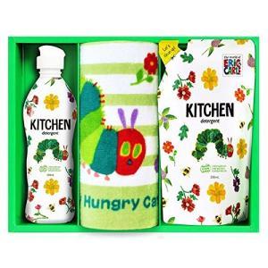 はらぺこあおむし キッチン洗剤タオルセット minatojapan-y02