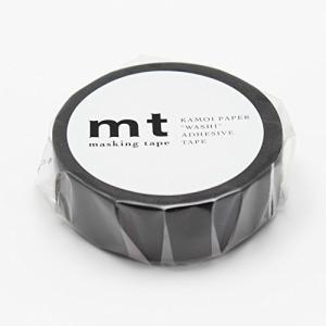 カモ井加工紙 マスキングテープ マットブラック MT01P207 【× 3 個 】|minatojapan-y02