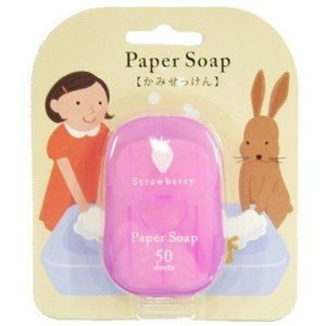 ペーパーソープ ストロベリーの香り|minatojapan-y02