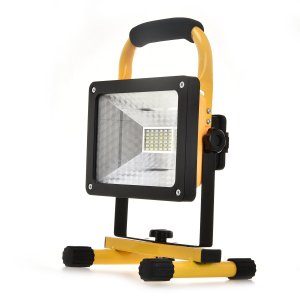 CVLIFE LED投光器 作業灯 集魚灯 夜釣り 夜間作業 充電式 30W 2400lm /15W 1200lm 360角度調整 軽量キャンプ 充電式 18650電池|minatojapan-y02
