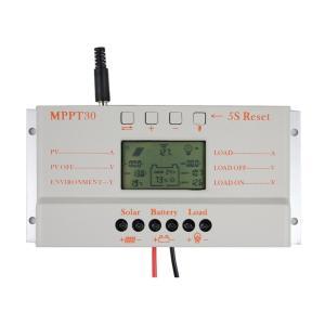 Y&H 30A 充電コントローラ12V/24V ソーラーチャージコントローラー パネル バッテリレギュレータ 過負荷保護 自動温度補償【MPPT対応】|minatojapan-y02