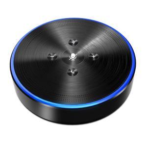 スピーカーフォン eMeet マイクスピーカー ワイヤレススピーカーフォン 全指向性360°遠隔会議用 最大5人まで対応 高音質 Bluetooth 4.1 USB接続 各通話アプリ対|minatojapan-y02