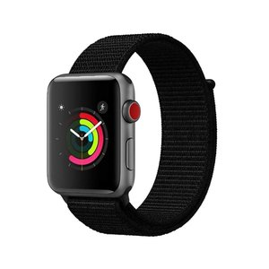 AIGENIU コンパチブル Apple Watch バンド ナイロンスポーツループバンド Appl...