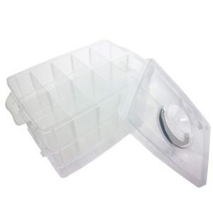 SIEG ベイブレード収納ケース 仕切り付きおもちゃボックス 持ち手つき 30個収納可能 minatojapan-y02