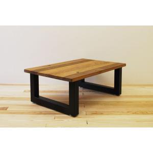 ローテーブル センターテーブル リビングテーブル 無垢 無垢材 北欧 木製 おしゃれ 一枚板仕様 ソファ―テーブル アイアンレッグ 日本製 モノリス 900幅 minatojimarocket