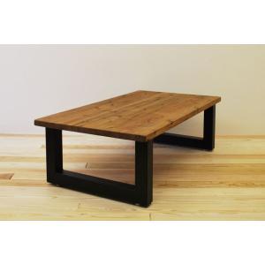 ローテーブル センターテーブル リビングテーブル 無垢 無垢材 北欧 木製 おしゃれ 一枚板仕様 ソファ―テーブル アイアンレッグ 日本製 モノリス 1100幅 minatojimarocket