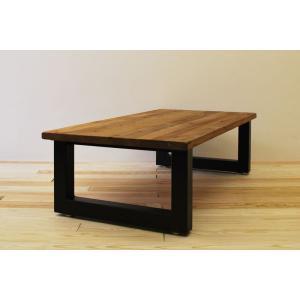 ローテーブル センターテーブル リビングテーブル 無垢 無垢材 北欧 木製 おしゃれ 一枚板仕様 ソファ―テーブル アイアンレッグ 日本製 モノリス 1200幅 minatojimarocket
