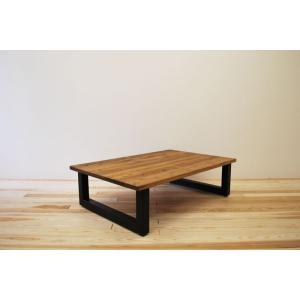 ローテーブル センターテーブル リビングテーブル 大きい 無垢 無垢材 北欧 木製 おしゃれ 一枚板仕様 ソファ テーブル アイアンレッグ モノリス 1200幅 ワイド minatojimarocket