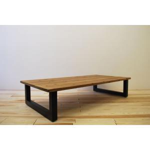 ローテーブル センターテーブル リビングテーブル 大きい 無垢 無垢材 北欧 木製 おしゃれ 一枚板仕様 ソファ テーブル アイアンレッグ モノリス 1600幅 ワイド minatojimarocket