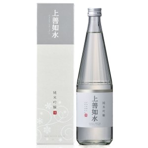 お歳暮 ギフト 日本酒 新潟 白瀧酒造 上善如水 純米吟醸 720ml|minatoya|02