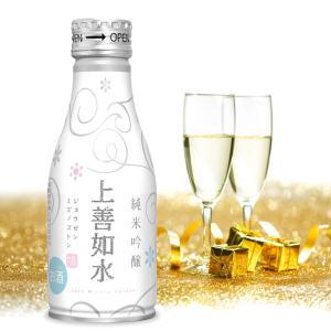 お歳暮 ギフト 日本酒 白瀧酒造 上善如水 純米吟醸 ボトル缶 180ml×24本入り|minatoya|05