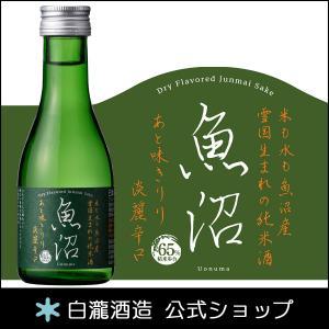日本酒 白瀧酒造 淡麗辛口魚沼 純米 180ml minatoya