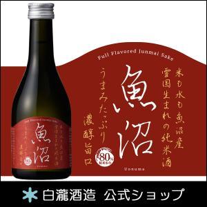 日本酒 白瀧酒造 濃醇魚沼 純米 300ml|minatoya