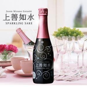 日本酒 白瀧酒造 上善如水スパークリング 360ml|minatoya|02