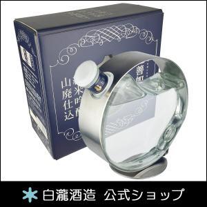 日本酒 白瀧酒造 上善如水 純米吟醸 山廃仕込 500ml|minatoya