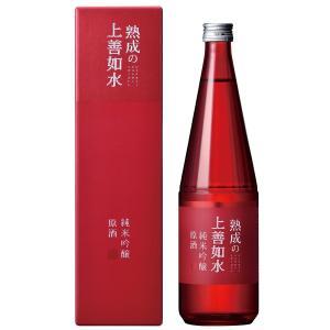 日本酒 白瀧酒造 熟成の上善如水 純米吟醸 原酒 720ml|minatoya|02