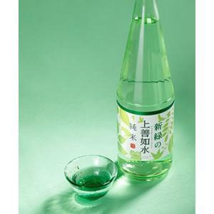 日本酒 白瀧酒造 新緑の上善如水 純米 720ml|minatoya|03