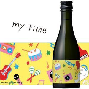 日本酒 白瀧酒造 純米吟醸 マイタイム(music) 300ml|minatoya