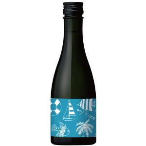 日本酒 白瀧酒造 純米吟醸 マイタイム sea 300ml|minatoya|02
