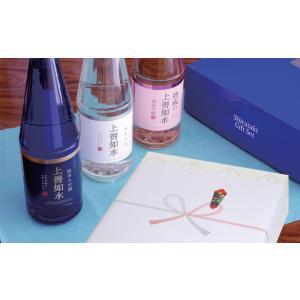 2018 ギフト 日本酒 白瀧酒造 上善如水ギフトセット 720ml×3本入り|minatoya|06