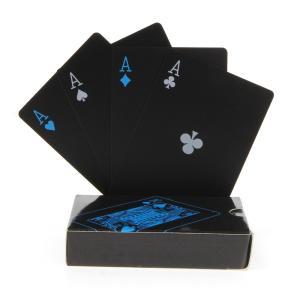 ブラック トランプ 黒 カッコいい 遊び ポーカー マジック おもしろ 豪華 カード パーティー 【送料無料】ctr-g27