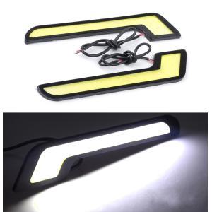 デイライトフォグランプ 白 LED ホワイト ベンツ 超薄型...