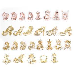 ・プリンセスたちとドレス小物が ゆめかわいい レジン枠の27個セットです。          ・セッ...