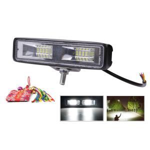 ・ 明るく高性能 汎用 LED ワークライト 48W です。           ・ セット内容:ラ...